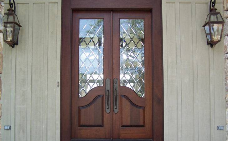 Wooden Exterior French Doors Ideas