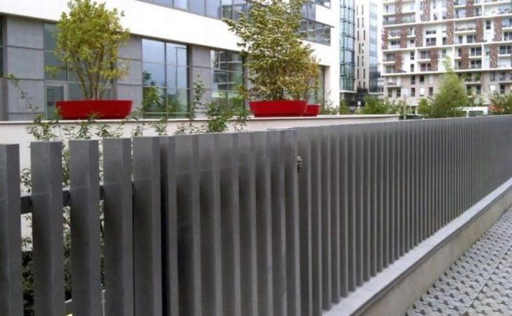 Wooden Fences Plants Pots Fence Gates Design Front