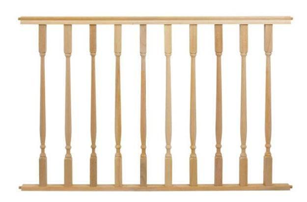 Wooden Handrails Ornaments Railing