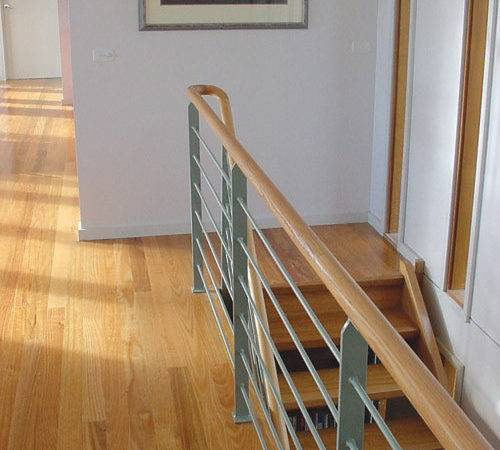Wooden Handrails Stairs