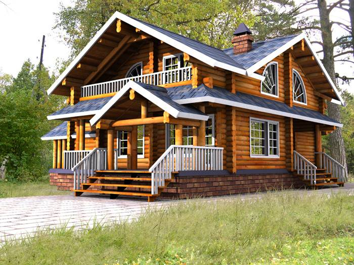 Wooden Homes Sussian Wood