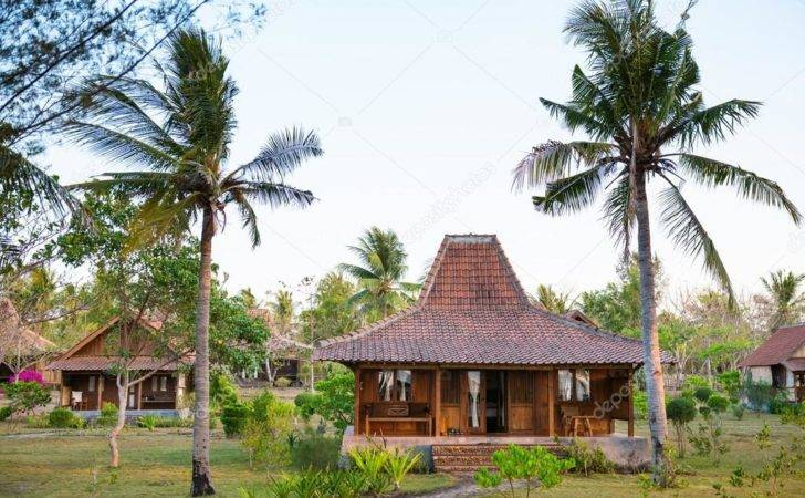 Wooden Houses Tropical Climate Iryna Rasko