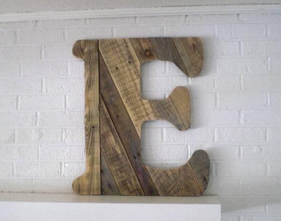 Wooden Letter Custom Wood Monogram