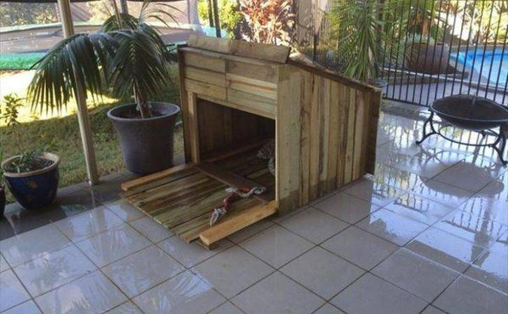 Wooden Pallet Dog House Plans Wood Projects