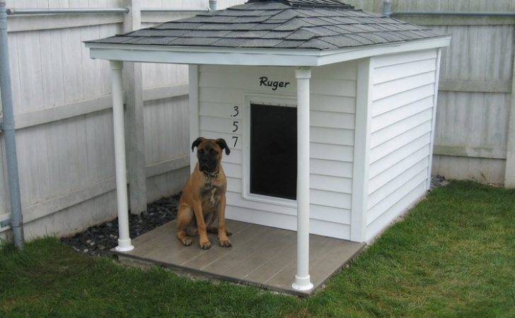 Wooden Pallet Dog House Plans