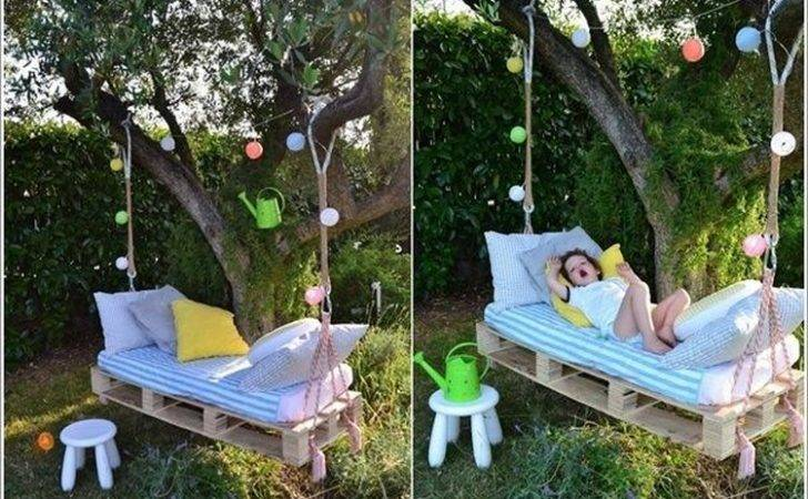 Wooden Pallet Swing Bed Ideas Recycled Things