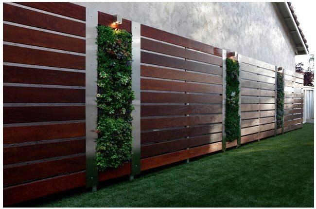 Wooden Privacy Screens Instantly Make Any Garden Look Sleek Modern