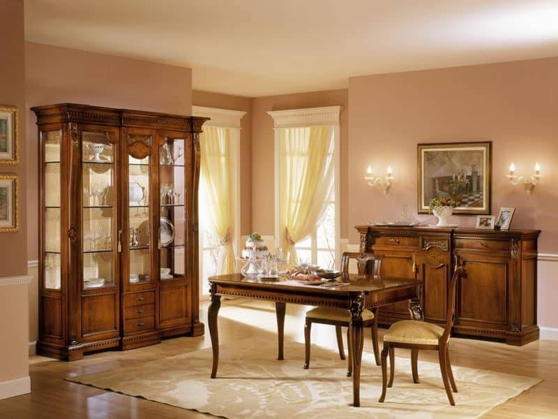 Wooden Showcase Designs Dining Room Home Design Exterior