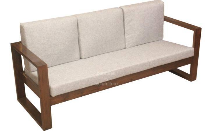 Wooden Sofa Set Simple Design Details Bic Furniture India
