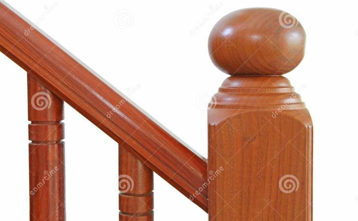 Wooden Stairs Handrail Photography