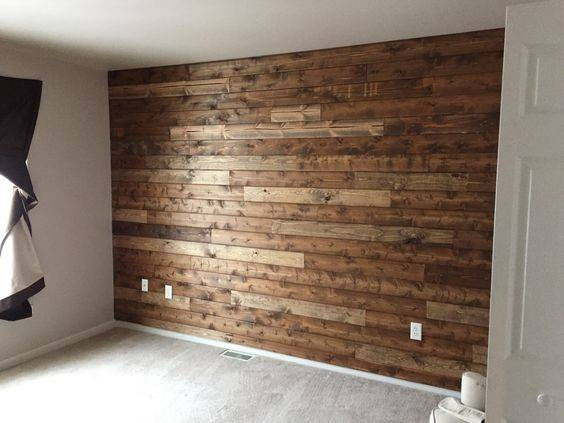 Wooden Wall Living Room Wood Nursery Girl Accent