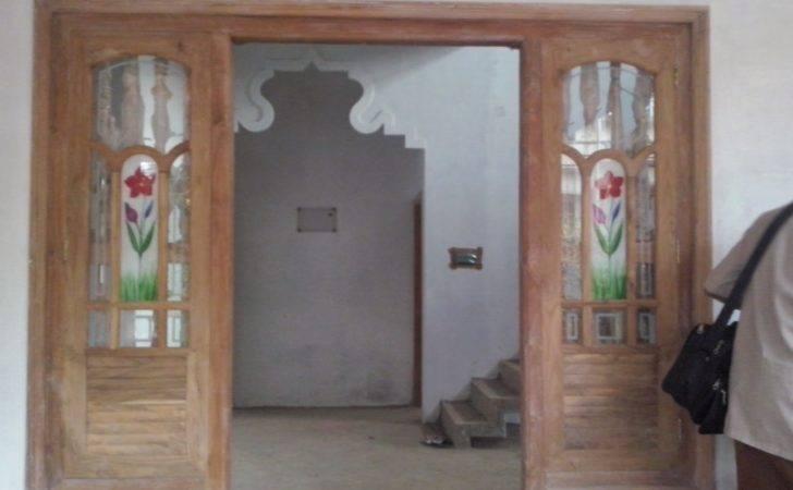 Wooden Window Designs Main Entrance Glass