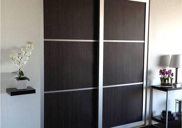 Woodgrains Sliding Closet Doors Room Dividers Modern