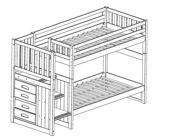 Woodworking Stairway Bunk Bed Plans Pdf