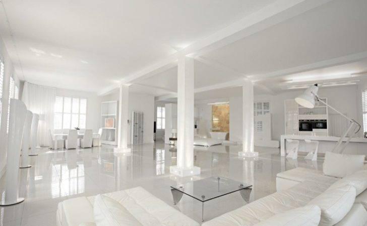 Work Angel Create Fabulous All White Loft Like