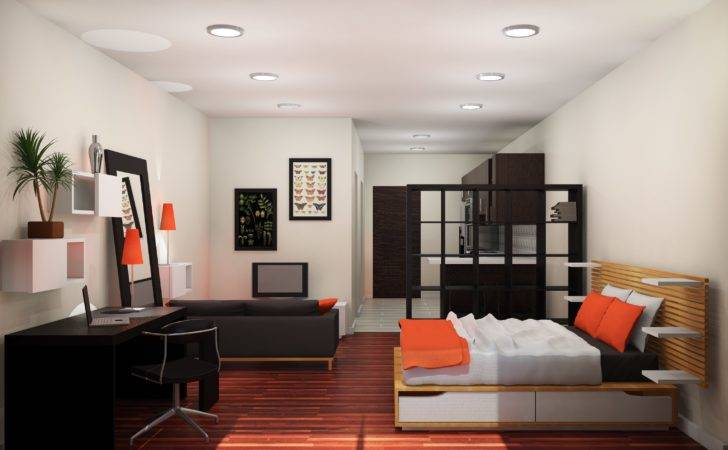Working Studio Apartment Design Midcityeast