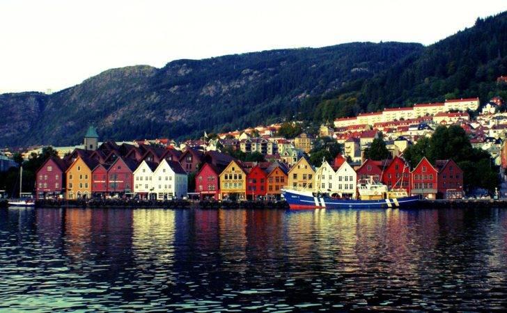 World Heritage Hunter Bryggen Bergen Hordaland Norway