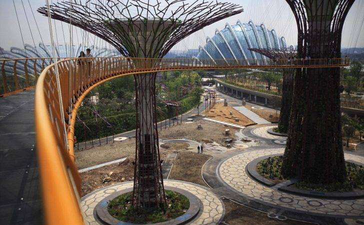 World Park Also Become Home Singapore Garden Festival