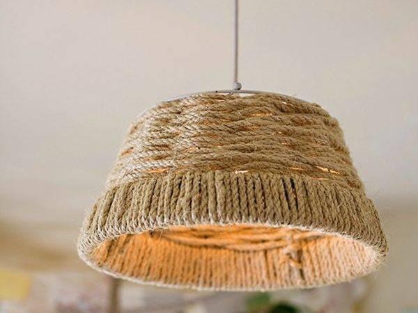 Woven Diy Rope Pendant Coolest Lights