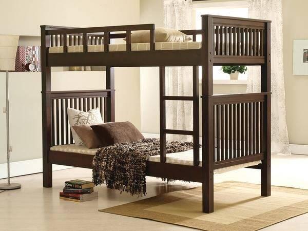 Wright Bunk Bed Picket Rail Singapore Premium Furniture Retailer