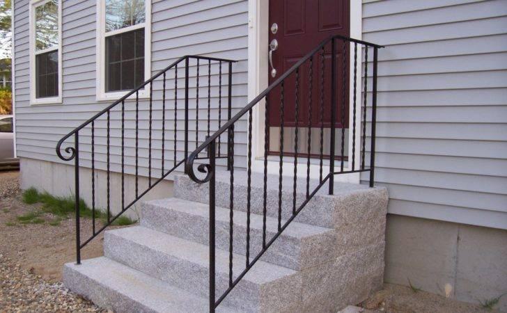 Wrought Iron Handrails Railings Steps