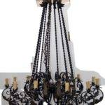 Wrought Iron Mediterranean Chandelier Ebay