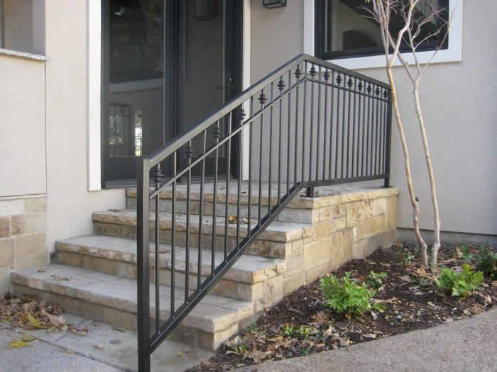 Wrought Iron Railings Provide Safety