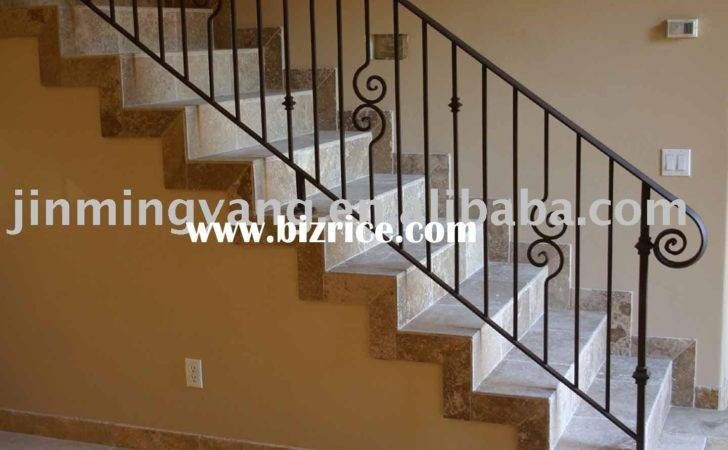 Wrought Iron Stair Handrail Metal Html