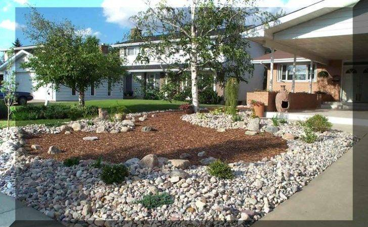 Xeriscape Designs Samples Front Back Yards Rather Stark