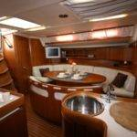 Yacht Interior Love Curves Then Angle Stairway Very