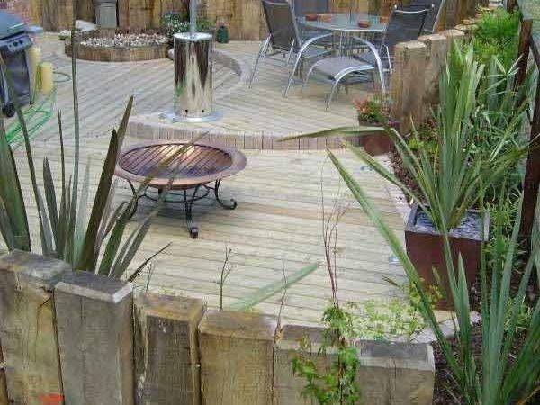 Yard Patio Garden Sunken Woohome