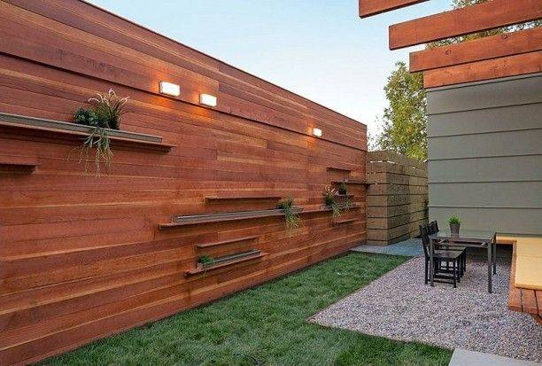 Yard Pinterest Fence Design Panels Outdoor