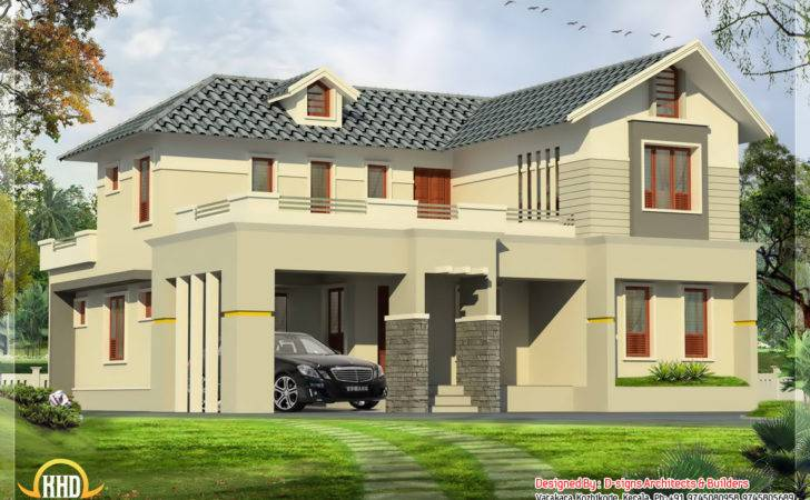 Yards Bedroom Sloping Roof India Housen Design Signs Architects