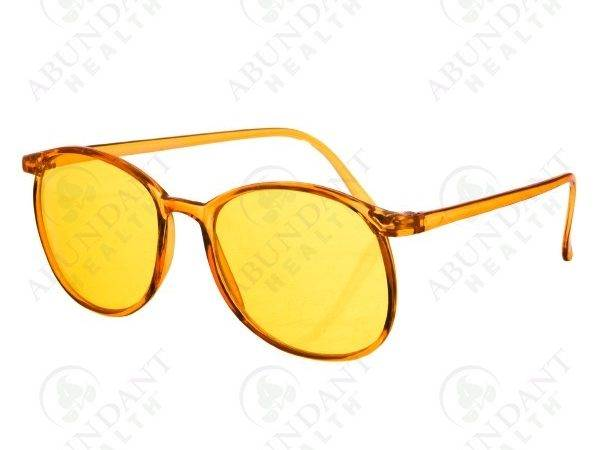 Yellow Color Therapy Glasses Protection