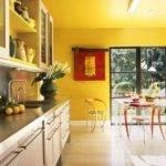 Yellow Kitchen Walls Love Accent Wall Sich