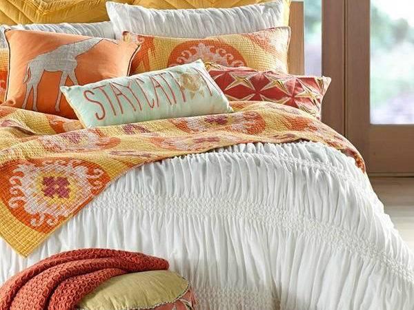 Yellow Orange Bedroom Color Scheme