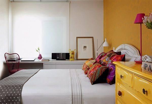 Yellow Orange Bedroom Pinterest