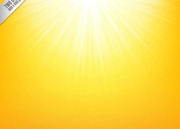 Yellow Sunshine Vector