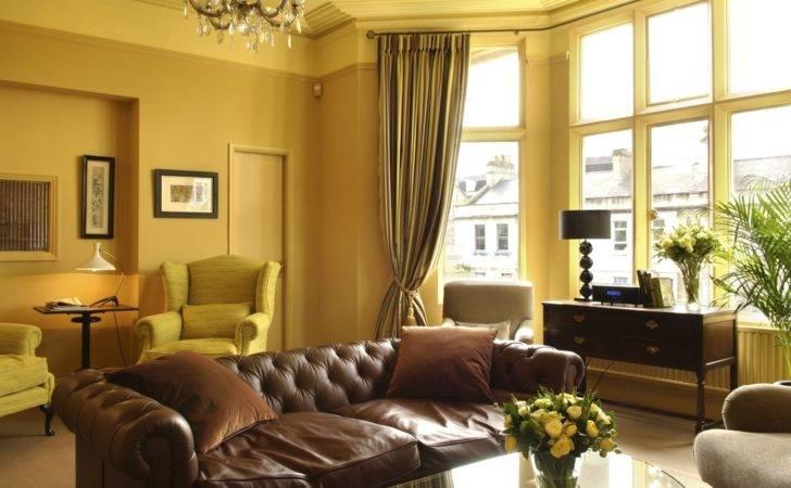 Yellowish Color Schemes Living Room Decorative