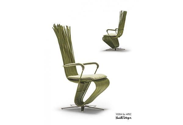 Yoda Chair Courtesy Kenneth Cobonpue Philstar Alixandra Caole