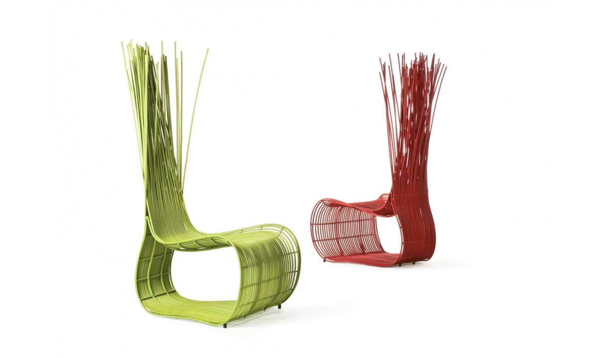 Yoda Easy Chair Kenneth Cobonpue Furniture Designed