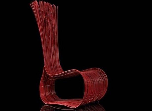 Yoda Easy Chair Model Kenneth Cobonpue