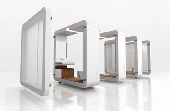 Yonoh Box Modular Bathroom System