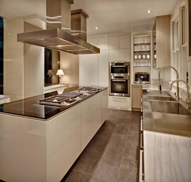 York Modern Kitchen New Cottonwood Fine