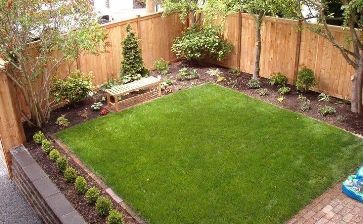 Young Backyard Landscaping Garden Landscape Design
