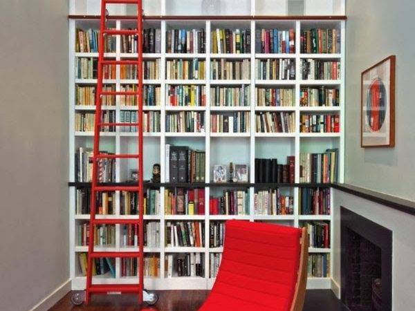 Your Home Library Can Simple Reading Corner