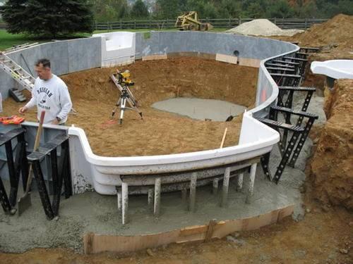 Yourself Inground Pools Design Swimming Pool Kit