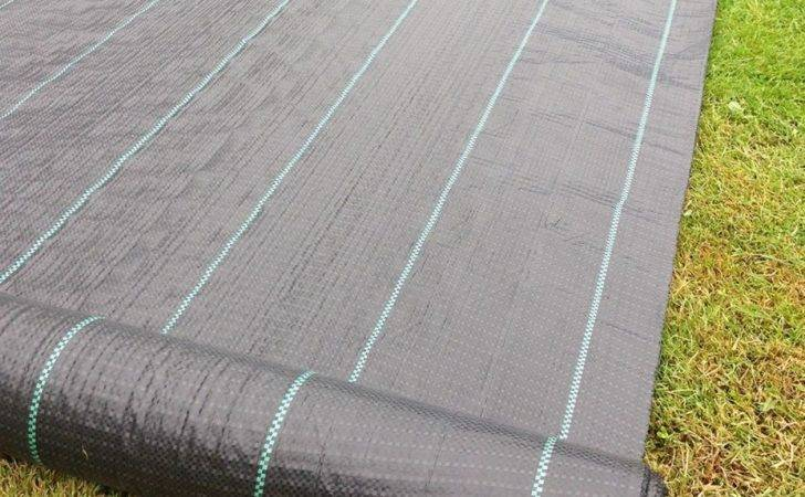 Yuzet Gsm Ground Cover Weed Control Fabric Membrane Mulch Ebay