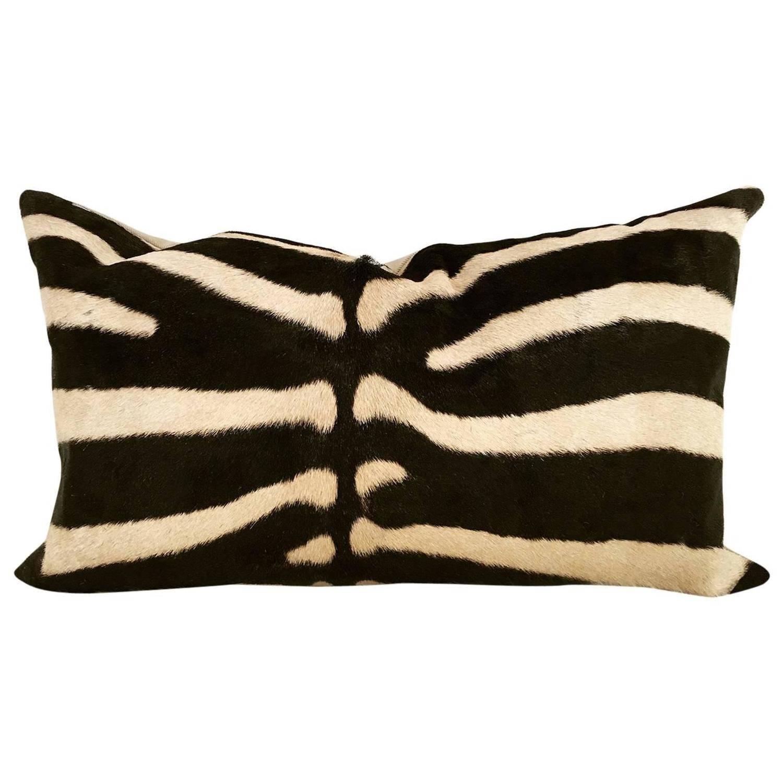 Zebra Hide Pillow Stdibs