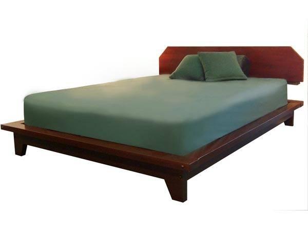 Zen Platform Bed Headboard